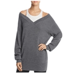 T by Alexander Wang Womens 2-Layer Knit Sweater