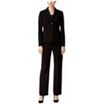 Le Suit Womens Solid Two Button Blazer Jacket