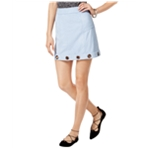 Material Girl Womens Faux Suede Mini Skirt