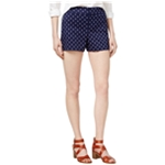 maison Jules Womens Anchor Casual Walking Shorts