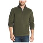 G.H. Bass & Co. Mens Zip-Neck Fleece Sweatshirt