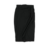bar III Womens Draped Wrap Skirt