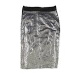 bar III Womens Sequined Pencil Skirt