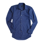 Van Heusen Mens Cvc Bc Fcy Button Up Shirt
