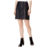 bar III Womens Zip Detail Mini Skirt