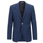 Hugo Boss Mens Tonal Two Button Blazer Jacket