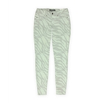 Ecko Unltd. Womens Animal Zebra Jegging Skinny Fit Jeans
