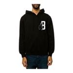 Black Scale Mens The Feather B Logo Hoodie Sweatshirt