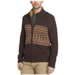 G.H. Bass & Co. Mens Rock Ridge Full-Zip Cardigan Sweater