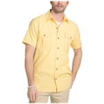 G.H. Bass & Co. Mens Salt Cove Cotton Button Up Shirt