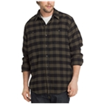 G.H. Bass & Co. Mens Flannel Button Up Shirt