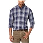 G.H. Bass & Co. Mens Plaid Button Up Shirt