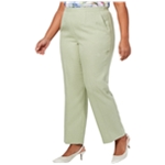 Alfred Dunner Womens Southampton Casual Trouser Pants