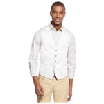 I-N-C Mens Slim-Fit Five Button Vest
