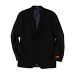 Tallia Mens Pinstripe Two Button Blazer Jacket
