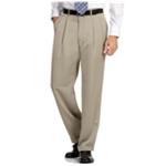 Perry Ellis Mens Double Pleated Dress Pants Slacks