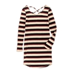 no comment Womens Striped Bodycon Dress