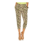 Thalia Sodi Womens Cropped Print Casual Lounge Pants