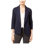 maison Jules Womens Knit Blazer Jacket