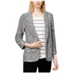 maison Jules Womens Knit Cardigan Sweater