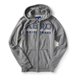 Aeropostale Womens Embroidered Hoodie Sweatshirt
