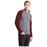 Aeropostale Mens Poly 1/4 Zip Fleece Jacket