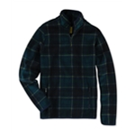 Aeropostale Mens Tartan Fleece Jacket