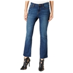 William Rast Womens Whiskered Cropped Jeans
