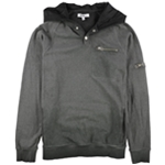 William Rast Mens Fleece Hoodie Sweatshirt