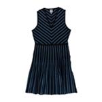 Anne Klein Womens Knit A-line Dress