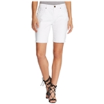 William Rast Womens Frayed Casual Denim Shorts