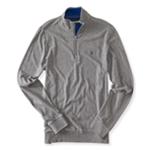 Aeropostale Mens 1/4 Zipped Sweatshirt