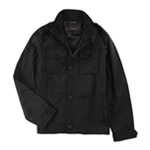 Tasso Elba Mens Four-Pocket Harrington Jacket