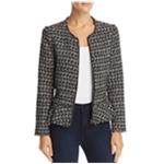 Rebecca Taylor Womens Multicolor Tweed Blazer Jacket