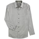 Tasso Elba Mens Diamond Button Up Shirt