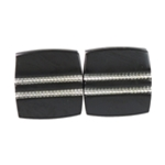 Kenneth Cole Mens Tailored Square Shape Cufflinks