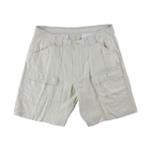 Tasso Elba Mens Linen-Blend Casual Cargo Shorts