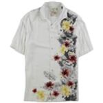 Tasso Elba Mens Hawaiian Button Up Shirt