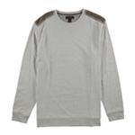 Tasso Elba Mens Shoulder Patch Pullover Sweater
