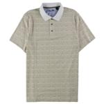 Tasso Elba Mens Printed Rugby Polo Shirt
