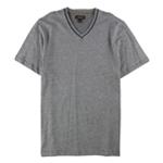 Tasso Elba Mens Birdseye V-Neck Basic T-Shirt