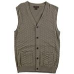 Tasso Elba Mens Chevron Sweater Vest