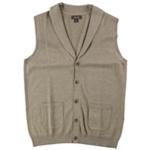 Tasso Elba Mens Shawl Collar Five Button Vest