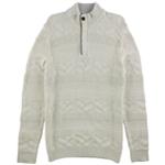 Tasso Elba Mens Quarter Zip Knit Sweater
