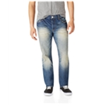 Aeropostale Mens Essex Denim Straight Leg Jeans