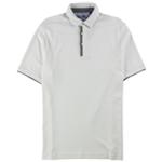 Tasso Elba Mens Supima Rugby Polo Shirt