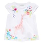 First Impressions Girls Giraffe Graphic T-Shirt