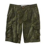 Aeropostale Mens Longer Length Printed Casual Cargo Shorts