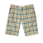 Aeropostale Mens Plaid Flat-Front Casual Bermuda Shorts