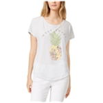 True Vintage Womens Pineapple West Coast Graphic T-Shirt